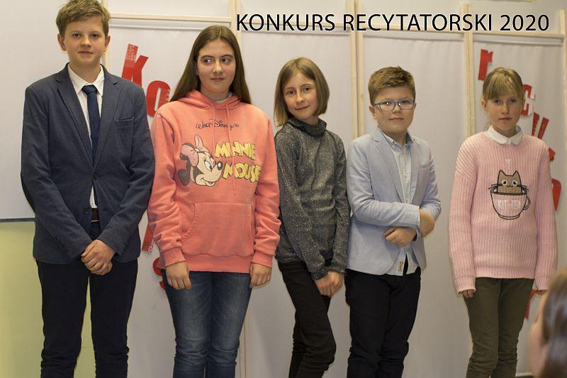 XXXVII Wojewódzki Konkurs Recytatorski – wyniki